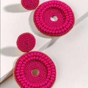 NWT Francesca's Jillian Seedbead Earrings